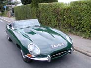 Jaguar E-Type Series 1 3.8 Roadster