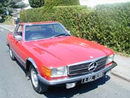 Mercedes Benz 350SL