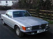 Mercedes Benz 450SLC