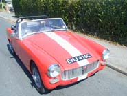 Turbocharged MG Midget